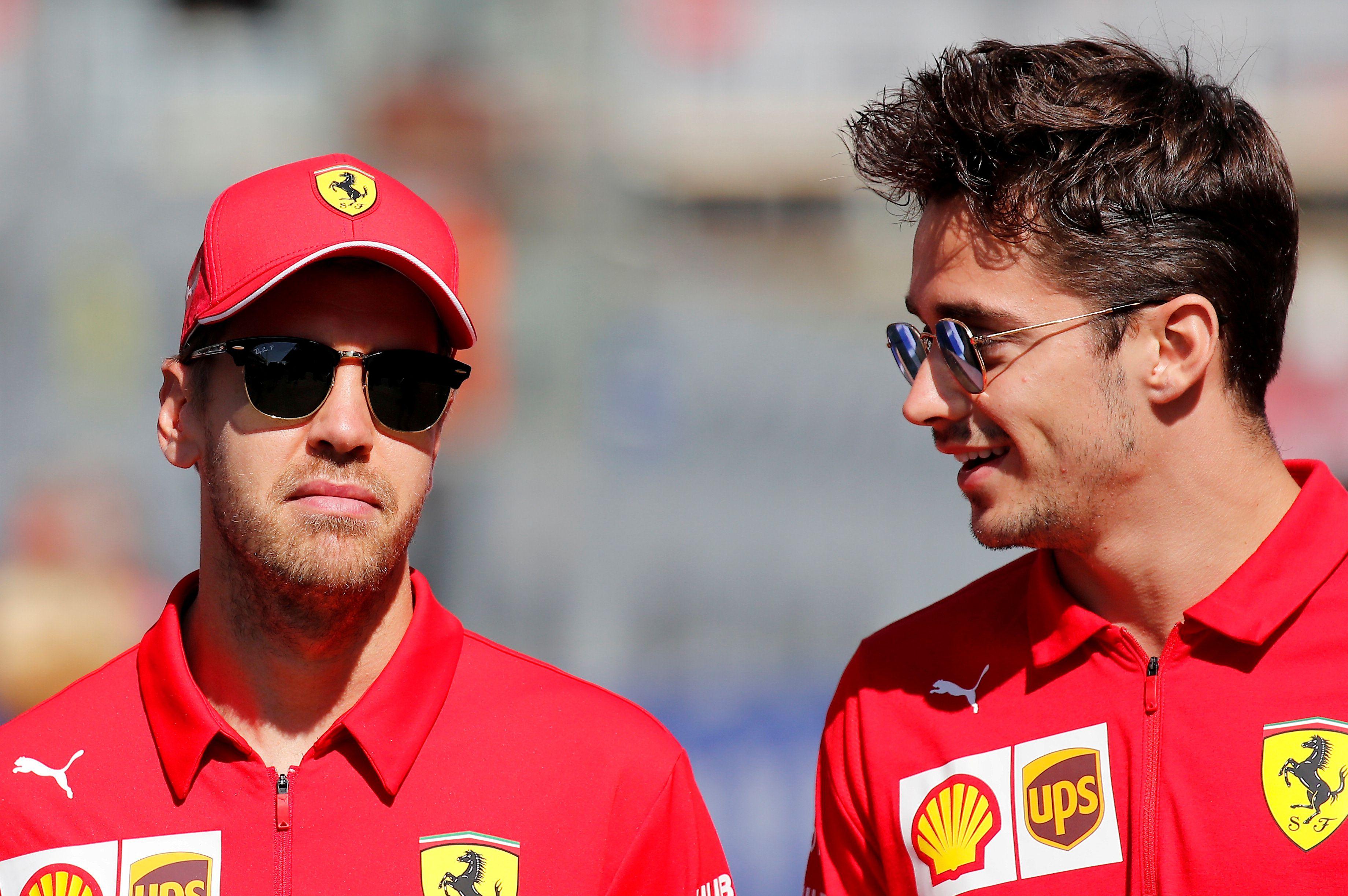 Leclerc y Vettel serán compañeros por último año: el español Carlos Sainz Jr. reemplazará al alemán en 2021 (Foto: Reuters)