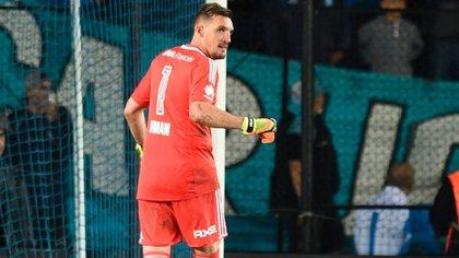 Armani mantuvo su primer contacto con el técnico de la selección argentina (@CARPoficial)