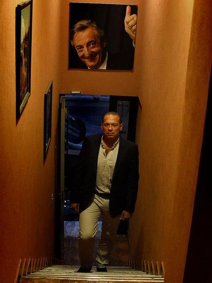 En su oficina: línea directa con CFK y adversarios como Zannini y Aníbal (Nicolás Stulberg)