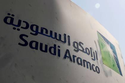 Imagen de archivo del logo de la petrolera Saudi Aramco, en la instalación de Khurais, Arabia Saudita, Octubre 12, 2019. REUTERS/Maxim Shemetov/