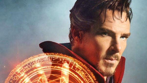 "Benedict Cumberbatch como ""Doctor Extraño"""