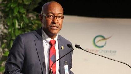 El ministro de servicios públicos de Trinidad y Tobago, Robert Le Hunte, que renunció tras la visita de Delcy Rodríguez el país