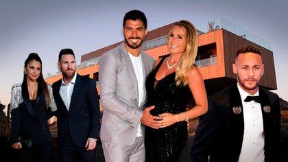 Luis Suárez y Sofía Balbi renovarán sus votos en Uruguay. Lionel Messi, Antonela Roccuzzo y Neymar confirmaron su asistencia