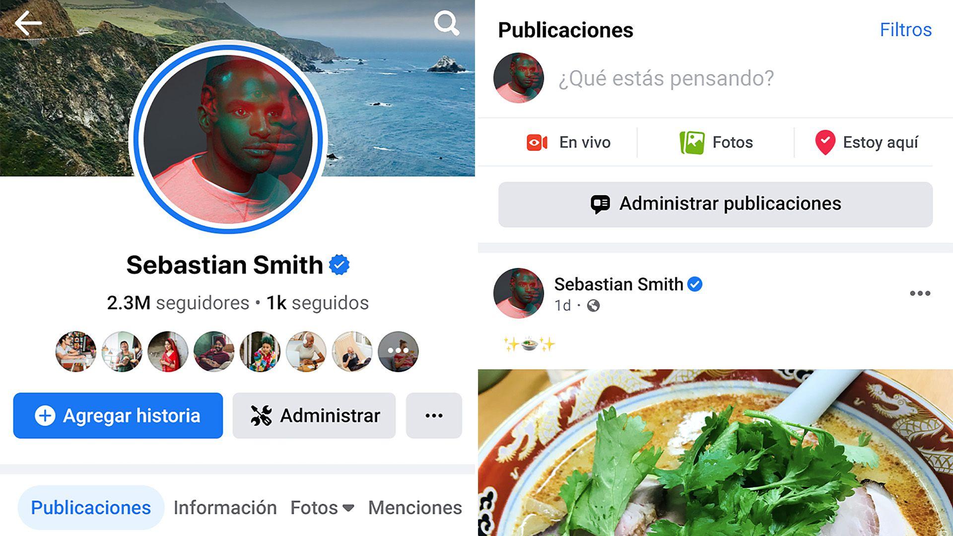 Facebook está presentando un nuevo diseño para las Páginas