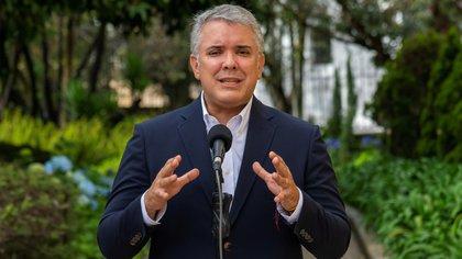 """""""La sociedad colombiana no puede estar secuestrada"""": Iván Duque condena bloqueos por paro"""