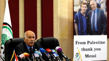 El presidente de la Federación de Fútbol de Palestina fue sancionado