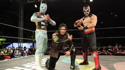 Joaquín Roldán aseguró que sus competidores no tienen opciones para arraigarse en México (Foto: Instagram/ @luchalibreaaa)