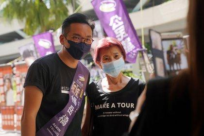 El diputado prodemocrático Alvin Yeung (Reuters)