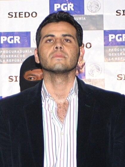 """Vicente Zambada Niebla """"El Vicentillo"""", hijo de Ismael """"El Mayo"""" Zambada y Rosario Niebla, quien se encuentra preso en EEUU acusado de varios cargos de narcotráfico. (FOTO: ALBERTO VERA/CUARTOSCURO)"""