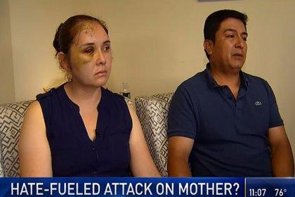 El atacante sólo fue suspendido cuando el esposo de Ruiz contactó al alcalde de la ciudad para ponerle al tanto de la situación (Foto: NBC New York)