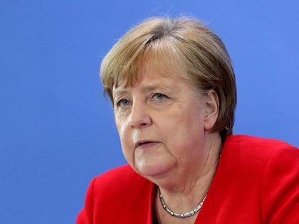 Angela Merkel (Michael Sohn/Pool via REUTERS)