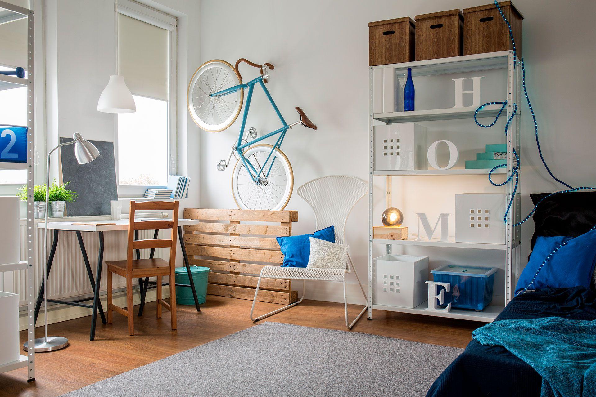Los edificios de micro-departamentos están ubicados en zonas próximas a avenidas y medios de transporte y están pensados para generar una extensión del departamento en calidad de vida con la inclusión de algunas de estas amenities (Shutterstock)