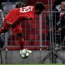 Munich (Germany), 11/12/2019.- Bayern's Kingsley Coman falls during the UEFA Champions League group B soccer match between Bayern Munich vs Tottenham Hotspur in Munich, Germany, 11 December 2019. (Liga de Campeones, Alemania) EFE/EPA/PHILIPP GUELLAND