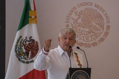 """López Obrador visitó Chiapas, cuna del movimiento del EZLN, este fin de semana, donde insistió en un mensaje """"de unidad""""(Foto: Cuartoscuro)"""