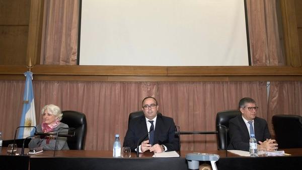 El Tribunal Oral Federal del juicio Ciccone (Adrián Escandar)