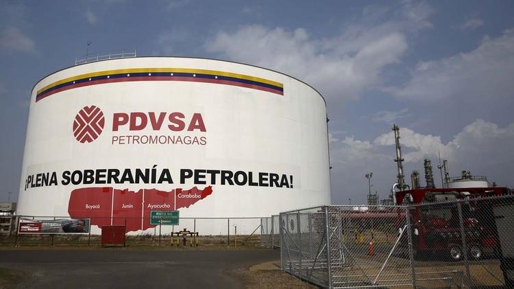 Una planta de PDVSA