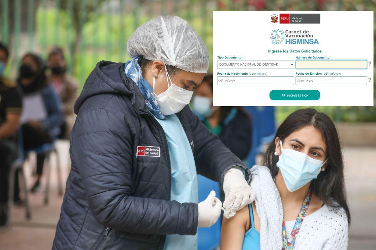Carné de vacunación en Perú