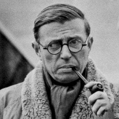 Jean Paul Sartre y su estrabismo