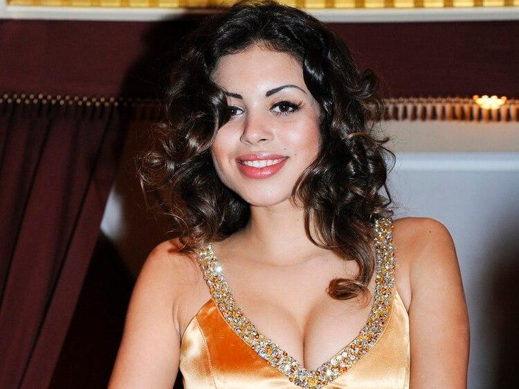 Karima El Marough, conocida como Ruby Robacorazones en una foto de 2011