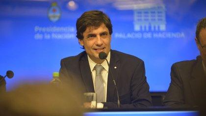 Hernán Lacunza, flamante ministro de Hacienda