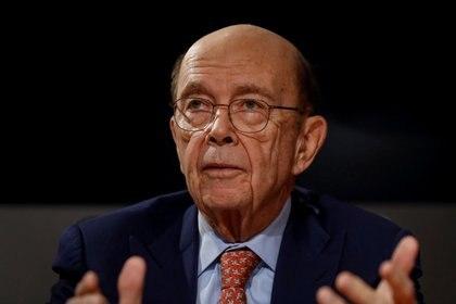 El secretario de Comercio de los Estados Unidos, Wilbur Ross (REUTERS/Brendan McDermid/Archivo)