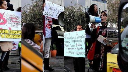 Collage basado en fotos de Ricardo Grande. VICE News.