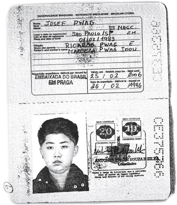 El pasaporte brasileño de Kim Jong-un (Reuters)