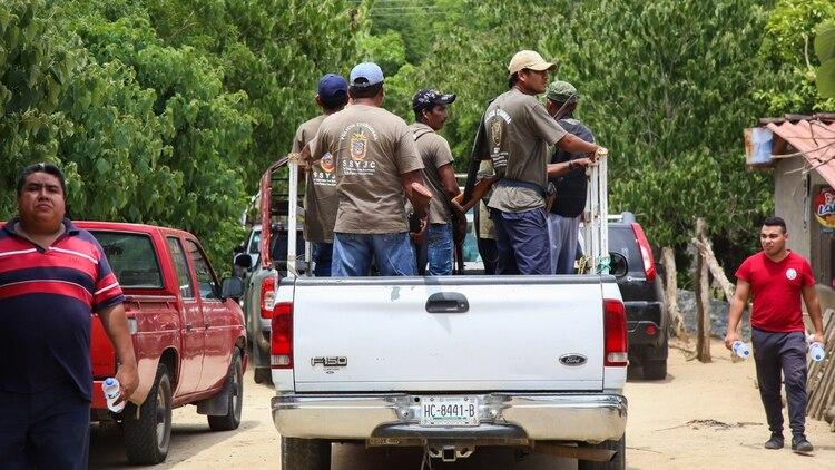 """Un grupo de autodefensas capturó a """"Capache"""" en Chilpancingo (Foto: Carlos Carbajal/ Cuartoscuro)"""