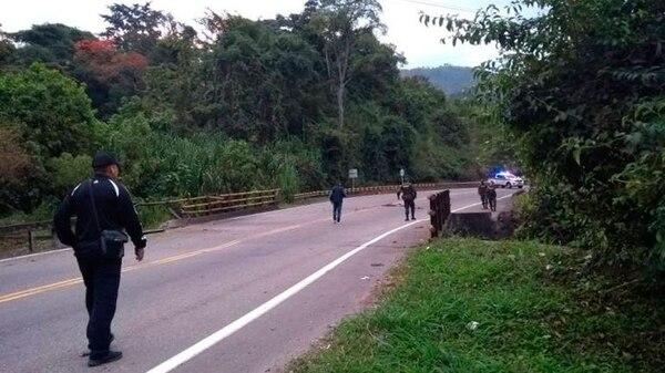 Las fuerzas de seguridad buscan normalizar el tránsito en las vías afectadas