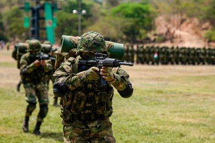 Imagen de archivo. Militares del Ejército de Colombia. TWITTER EJÉRCITO DE COLOMBIA