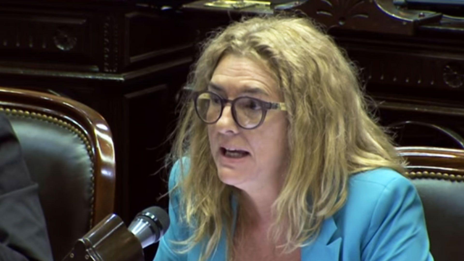 Senadora provincial Claudia Rucci.