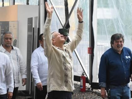 AMLO fue duramente criticado por reiniciar sus giras por el país a pesar de la emergencia sanitaria (Foto: Elizabeth Ruis/ Cuartoscuro)