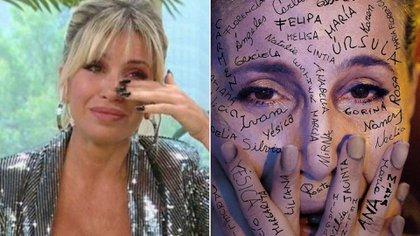 Flor Peña lloró hace unos días en su programa por las criticas de las revista Gente
