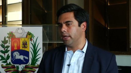 Ángel Alvarado, diputado opositor venezolano