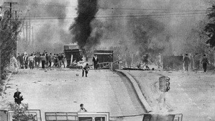 El Cordobazo fue uno de los levantamientos populares más importantes de la Argentina