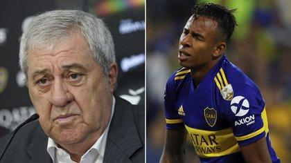El presidente de Boca, Jorge Ameal, también se refirió a la continuidad de Villa