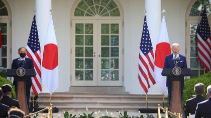 """Joe Biden declaró que Japón y Estados Unidos enfrentarán juntos """"los desafíos que plantea China"""""""