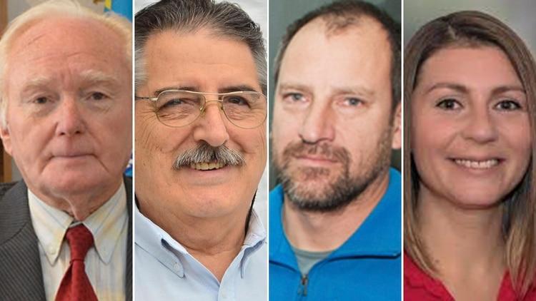Oscar Petersen, José Luis Giussi, Maximiliano Masquijo y Gloria Saezse mediarán mañanapor las candidaturas a gobernador en las Paso de Chubut.