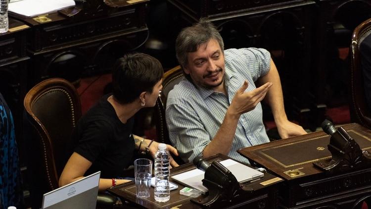 Máximo Kirchner será el presidente del bloque unificado del Frente de Todos (Adrián Escandar)