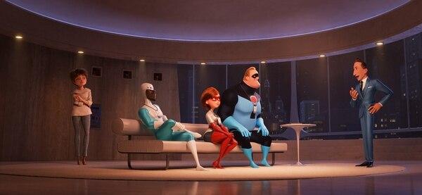 Los increíbles 2. Superhéroes en Devtech.©2018 Disney•Pixar. All Rights Reserved.