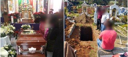 Este jueves fueron entregados los restos de Paty, después de diez meses de su desaparición, le hicieron una misa y su familia le dio el último adiós en un cementerio de Huixquilucan Foto: (Cedida por la familia de Paty)