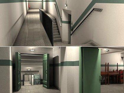 Una reconstrucción virtual del búnker  162