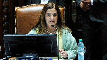 La diputada Carmen Polledo (CABA-PRO) (Télam)
