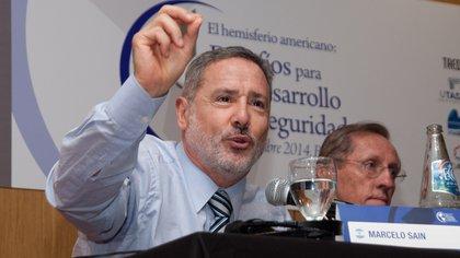 El ministro Marcelo Saín: la idea de un Dios santafesino (Adrián Escandar)