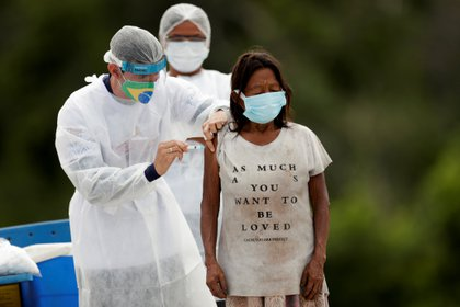 Preocupa en Brasil el lento proceso de vacunación (REUTERS/Ueslei Marcelino)