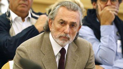 El empresario Francisco Correa, líder de la trama corrupta. Por un juego de palabras de su apellido con el alemán gürtel (cinturón), el caso fue bautizado de esa manera (AFP)