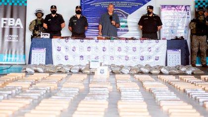 """""""Detrás de las tomas de tierra está el narcotráfico"""", asegura Sergio Berni, el ministro de Seguridad de la provincia de Buenos Aires. (Crédito: Ministerio de Seguridad provincia de Buenos Aires)"""