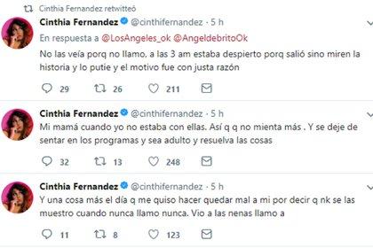 El descargo de Cinthia Fernández contra Matías Defederico