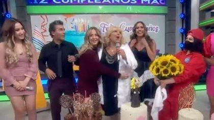 """Magda Rodríguez celebró en """"Hoy"""" su cumpleaños (Captura de pantalla)"""