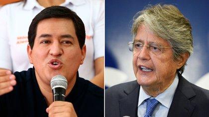 Las encuestas vaticinan una segunda vuelta entre Andrés Arauz y Guillermo Lasso